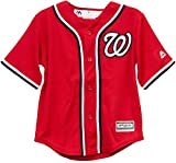 Washington Nationals Blank Red Toddler Cool Base Alternate Replica Jersey