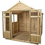 Forest OPASUM77HD 7 x 7 ft Oakley Summerhouse