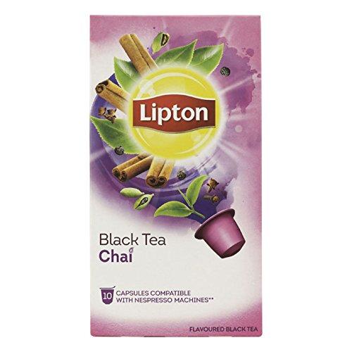 Lipton black tea chai nespresso compatible tea capsules 10 caps box 60 caps total - Capsule to by lipton ...