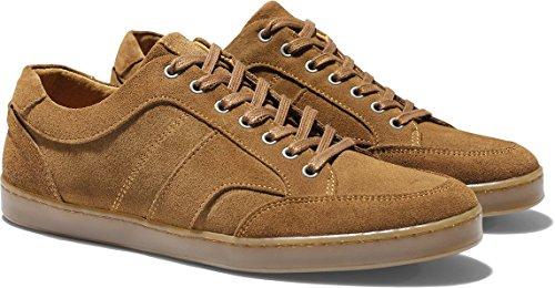 Chaussures basket sneakers albi velours cognac Rudy's