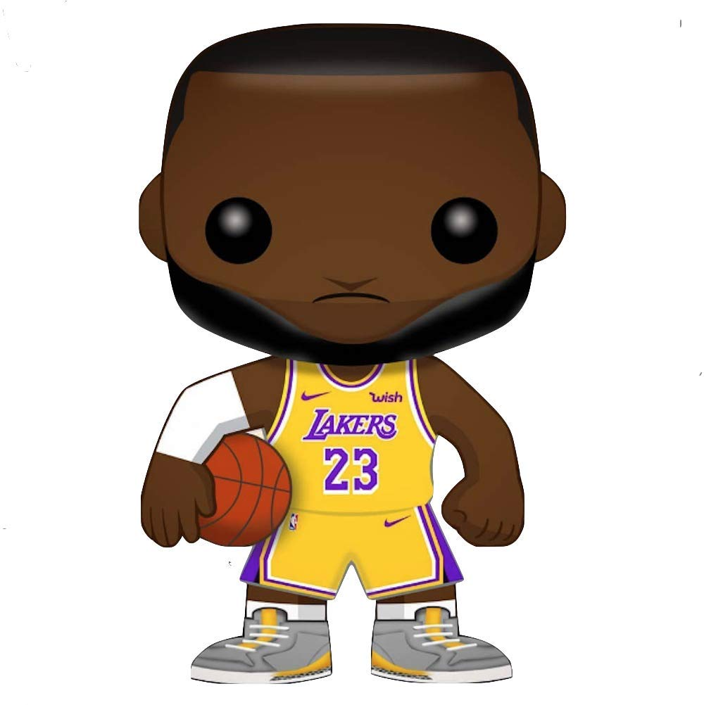 Amazon.com: POP! Funko Baloncesto Los Angeles Lakers Lebron ...