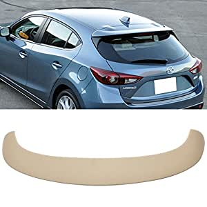 Amazon.com: Roof Spoiler Fits 2014-2016 Mazda 3 Hatchback ...2014 Mazda 3 Hatchback Black