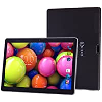 Contixo M96 Quad Core Android 4.4 Tablet, IPS 1280x800 Display, Built-in Bluetooth, GPS, FM Radio, Dual Camera, Unlocked GSM, with Dual SIM Card Slot, 2G/3G Phablet, Google Play Pre-installed, Black