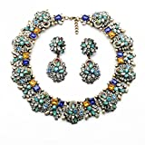 Fun Daisy Fashion Vintage Jewelry Fashion Necklace & Earrings Jewelry Set