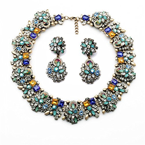 (Fun Daisy Fashion Vintage Jewelry Fashion Necklace & Earrings Jewelry)