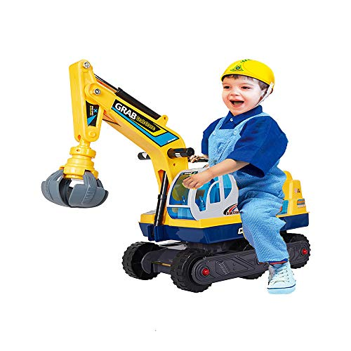 COLORTREE Ride-on Pretend Play Construction Truck Toy for Children by COLORTREE
