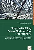Simplified Building Energy Modeling Tool, Pongsak Chaisuparasmikul, 3639009770