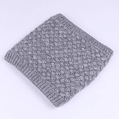 ☆ Pañuelos para el Cuello para bebé de Punto, Niños Invierno Cálido Felpa Bufanda Niños Chicas niños Bebé de Punto Collar Cuello Bufandas Absolute: ...