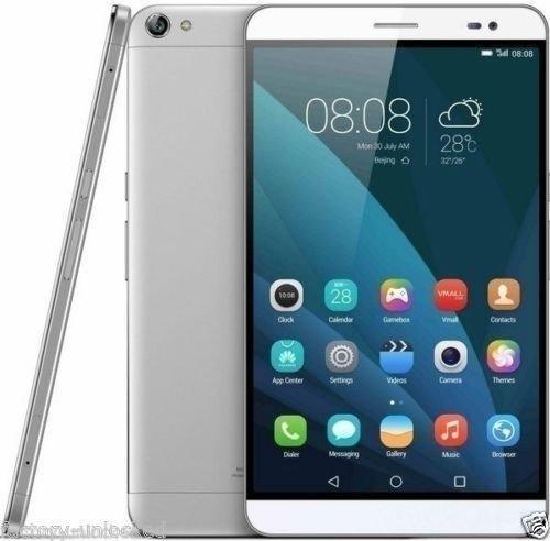 Huawei Mediapad X2 Tablet Phone (GEM-702L) 32GB Silver, Dual Sim, 7.0 inch, 3GB ROM - GSM Unlocked International Model, No Warranty