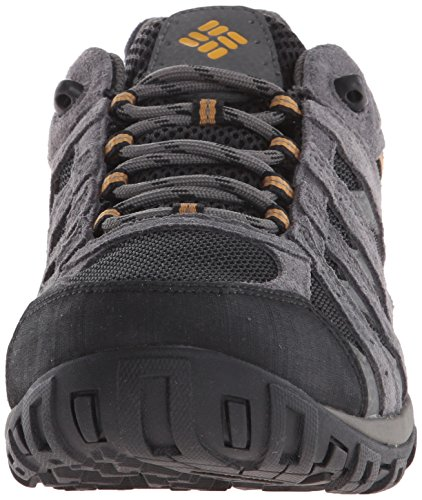 Columbia Men's Redmond Waterproof Hiking Shoe Black, Squash 7.5 D US by Columbia (Image #4)