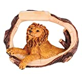 DollarItemDirect LION RESIN TREE BARK MAGNET, Case of 120