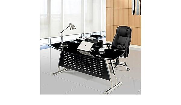 Hogar Decora Escritorio Cristal 180x80 cm: Amazon.es: Hogar