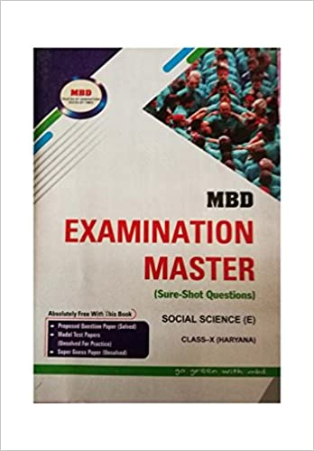 Amazon in: Buy Examination Master (MBD) Social Science (E)Class 10th