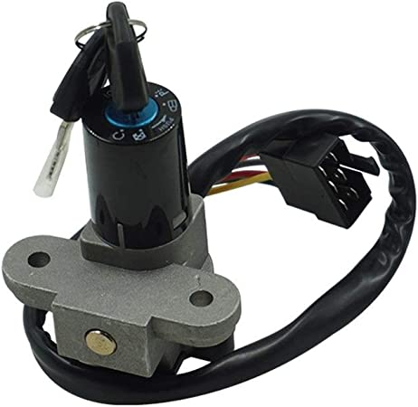 Accessori per la chiave del motociclo Interruttore di accensione del motociclo Tappo del gas Set serratura chiave Kit chiave Per Suzuki GSX600 750 1998-2006 1200 1999-2000