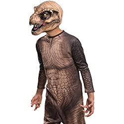 Rubie's Costume Jurassic World T-Rex Child Mask Costume by Rubie's Costume Co