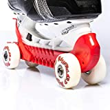Rollergard Ice Skate Guards, One Size Fits Most, Red