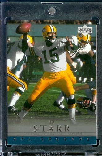 2000 Upper Deck Legends # 23 Bart Starr Green Bay Packers Football Card - Mint Condition - Shipped In Protective ScrewDown Display Case! Bart Starr Memorabilia