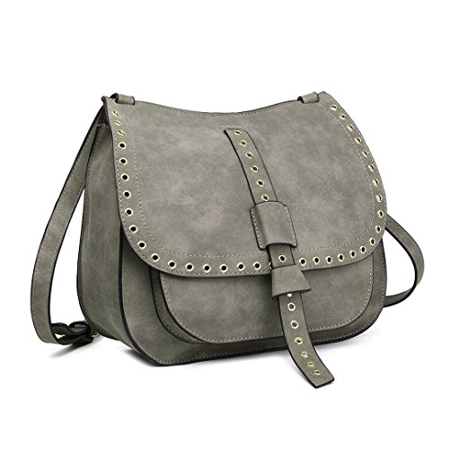 for Work PU Girls Lulu Leather Casual Crossbody grey Women Bag Shopping Holiday Superlight 1727 Miss Bag Womens Bag Shoulder 4YPvwv6q