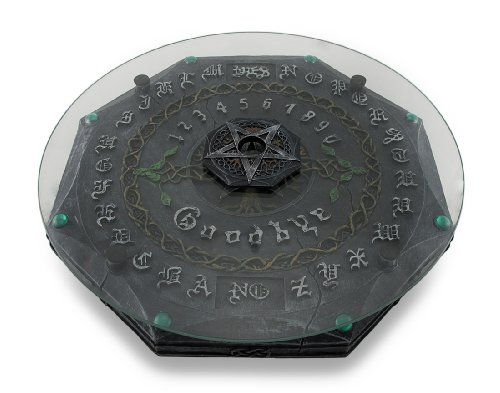 Lisa Parker Tree Of Life Pentacle Glass Top Ouija Board Witch Pagan (Ouija Board Piece)