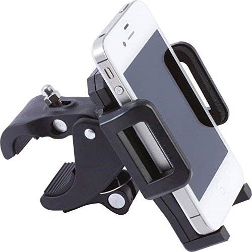 Universal Motorcycle Bike Mount Holder for Mobile Phone White - 1