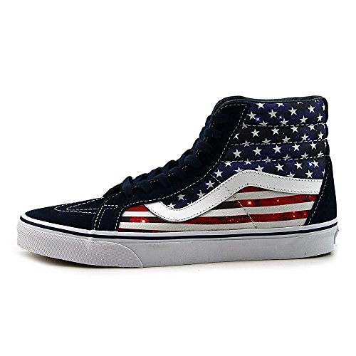 Vans Sk8-Hi, Unisex Adults' High-Top Sneakers Dress Blues/True White