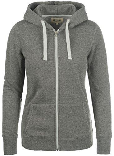DESIRES Derby - Sudaderas con capucha para Mujer Grey - Grey Melange (8236)