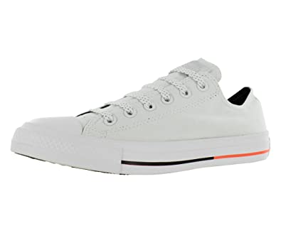 Converse Unisex Chuck Taylor All Star Low Top White   Lava   Black Sneakers  - 3.5 59e2694c76ce
