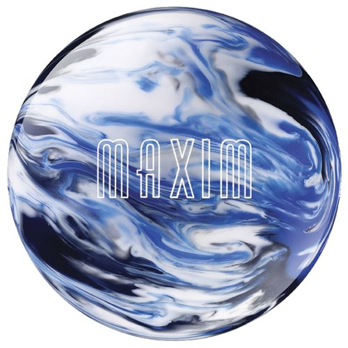 Ebonite Maxim Captain Midnight Bowling Ball WhiteBlueBlack 13