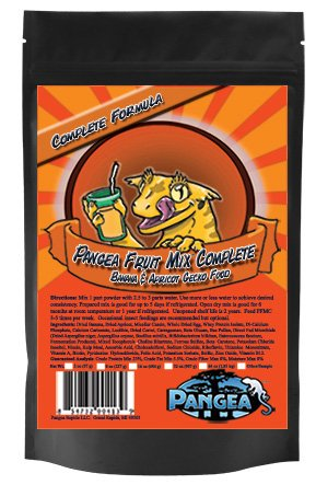 5199e0%2B6xFL - Banana/Apricot Pangea Fruit Mix Complete Crested Gecko Food 1/2 lb