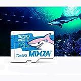 MIXZA Shark Edition Memory Card 16GB Micro SD Card Class10 For Smartphone Camera MP3
