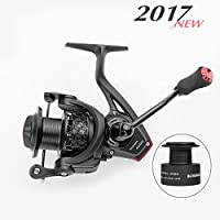 [2017 New] BLISSWILL Spinning reel Smooth 12+1BB Spinning...