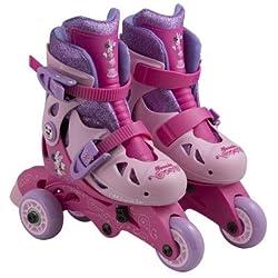 Disney Minnie Convertible 2-in-1 Kids Skate, Junior Size 6-9