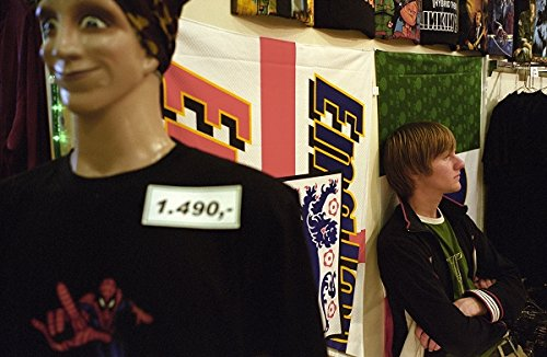 Young man at kolaportid, Reykjavik free market, Iceland. 30x40 photo reprint by PickYourImage