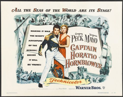 Captain Horatio Hornblower Poster Movie 1951