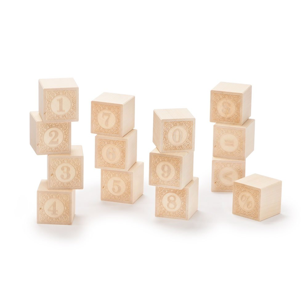 Uncle Goose Alphablanks Numbers Blocks - Made in USA by Uncle Goose (Image #2)