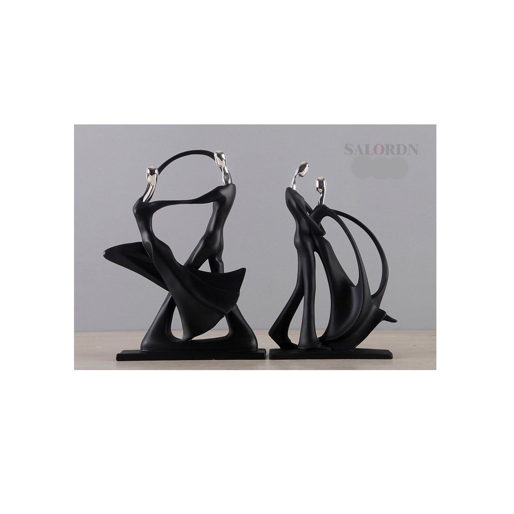 SALORDN Modern minimalist dancing couple resin ornaments decorations home accessories crafts living room furnishings wedding gifts
