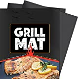 Winage BBQ Grill Mats Heavy Duty Non Stick, Reusable