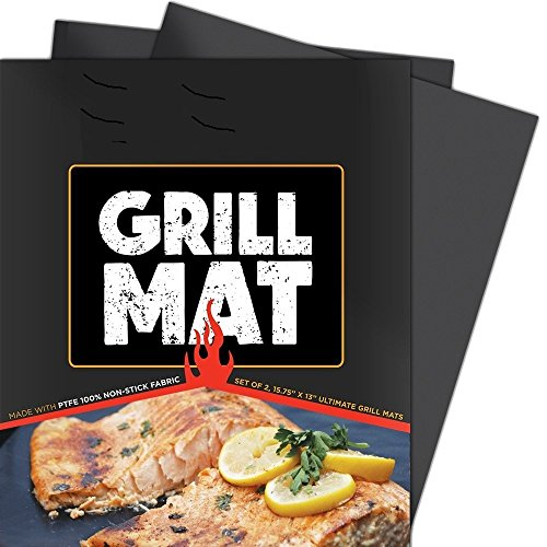 Winage BBQ Grill Mats Heavy Duty Non Stick, Reusable by Winage