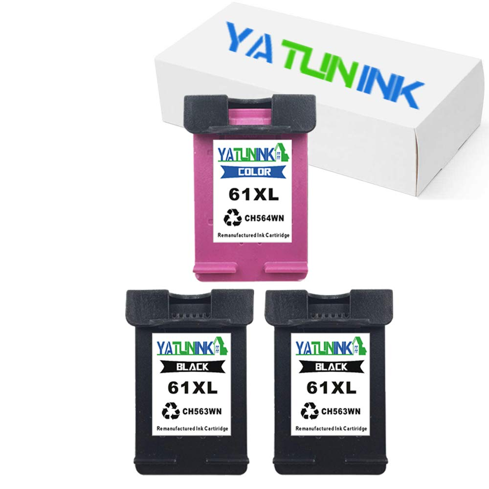 Amazon.com: yatunink Repuestos para HP 61 X L Cartucho de ...
