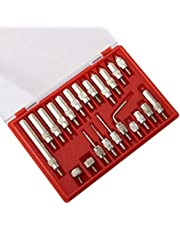 Test Indicator Set Contact 0.01mm Precision Dial Indicator Points Set 22pcs Dial Indicator Accessories Set Instrument Accessories Set