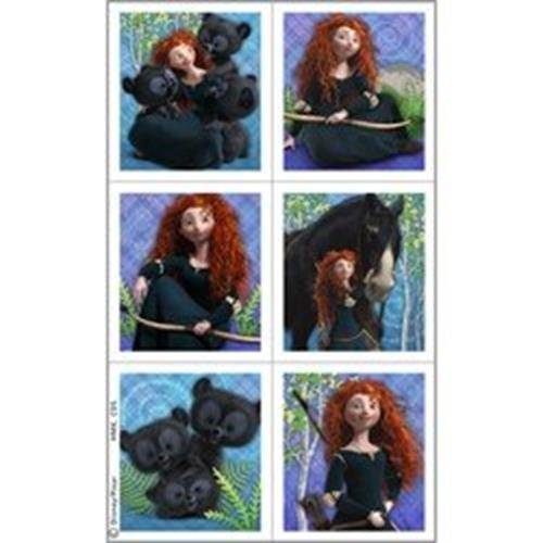 Brave Stickers (4 Sheets)
