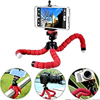 AVMART Mini Flexible Sponge Octopus Stand Tripod Mount for Support All Kinds of Mobile Phone Models Under 5.8 Inch (Well fits iPhone 6, 6 Plus 5 5S 5C, Samsung, etc Camera Video