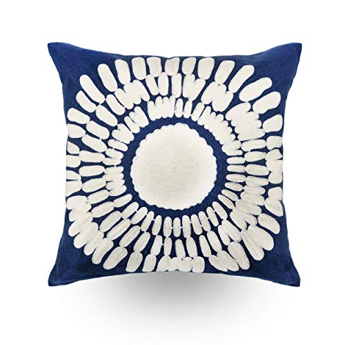 Hodeco Embroidery Throw Pillow