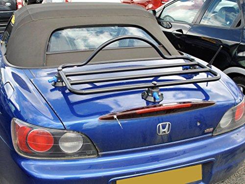 Honda S2000 Luggage Trunk Rack Unique Design, No Clamps No Straps No Brackets No Paint Damage