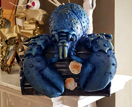 Lobster Sitting on a Chest - Nautical Decor