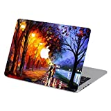 Customized Famous Painting Series Under the Street Light Special Design Water Resistant Hard Case for Macbook Air 13'' (Model A1369/a1466)