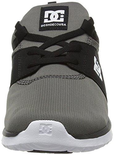 DC Shoes Heathrow - Zapatillas para hombre Gris (Grey / Black / Green)