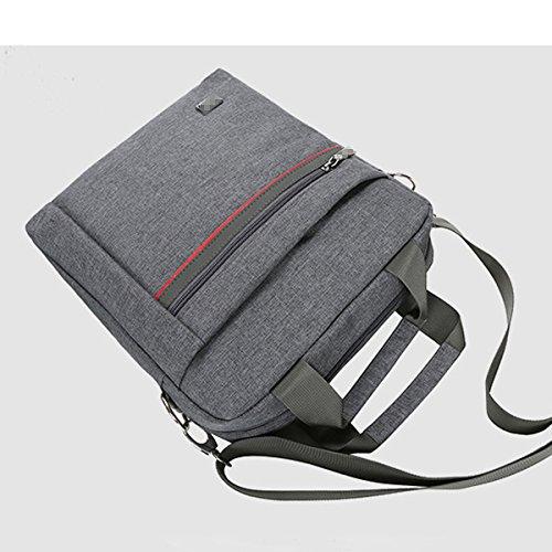 For Gray Durable Men Fabric Satchel Fashion Oxford Bag Shoulder Practical Multicolor Convenient Inclined Classic AcBqET