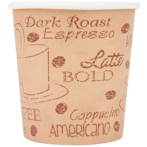 Choice Disposable Paper Hot Cups (50/pk) (4 oz, Cafe) (To Go Espresso compare prices)