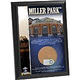 MLB Milwaukee Brewers Miller Park 4x6 Dirt Plaque